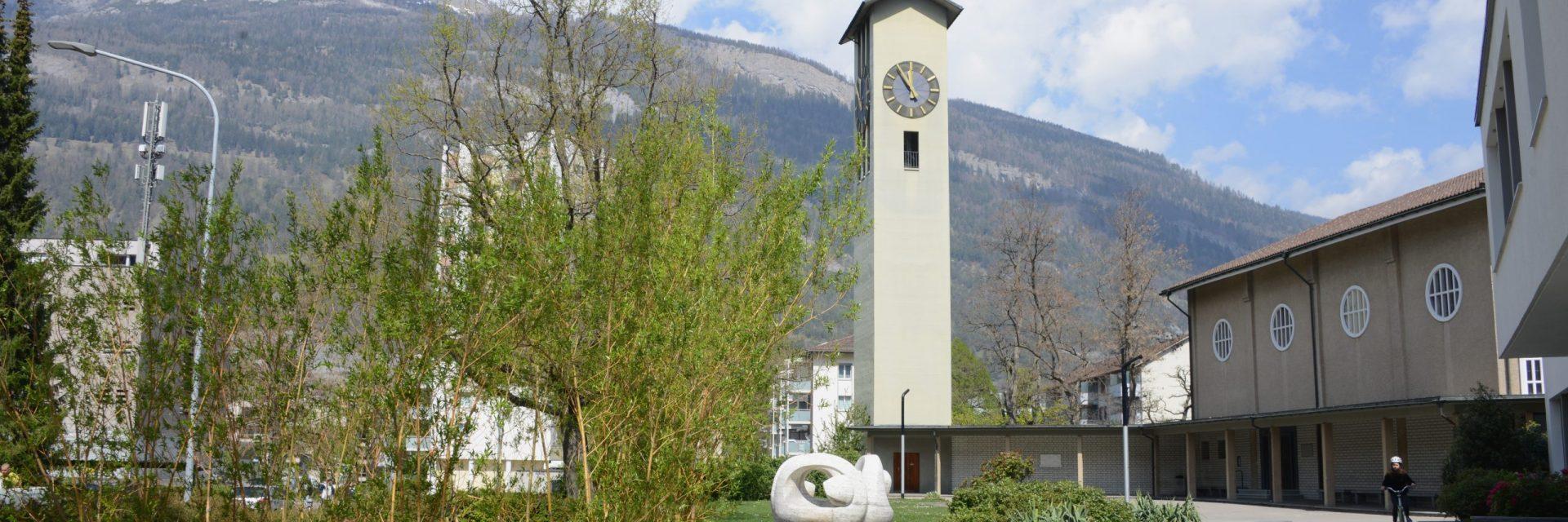 Comander, Kirchen, Frühling